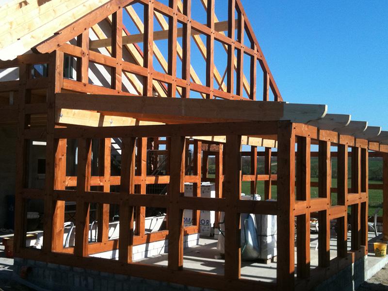 Holzbau esch die abbund manufaktur aus sternberg fachwerk for Holzbalken fachwerk